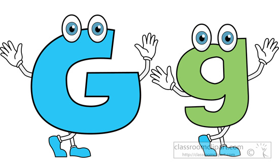 Free Clipart Letter G.