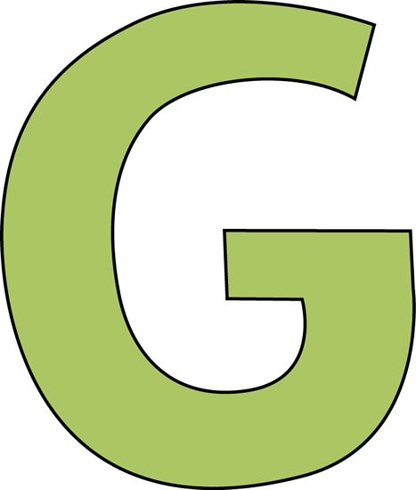 Free Letter G Clipart.