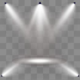 Gradient Stage Light Effect, Gold, Streamer, Speed of Light PNG.