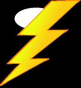 Lightning Clip Art at Clker.com.