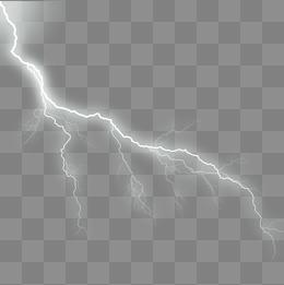 White Lightning PNG Images.