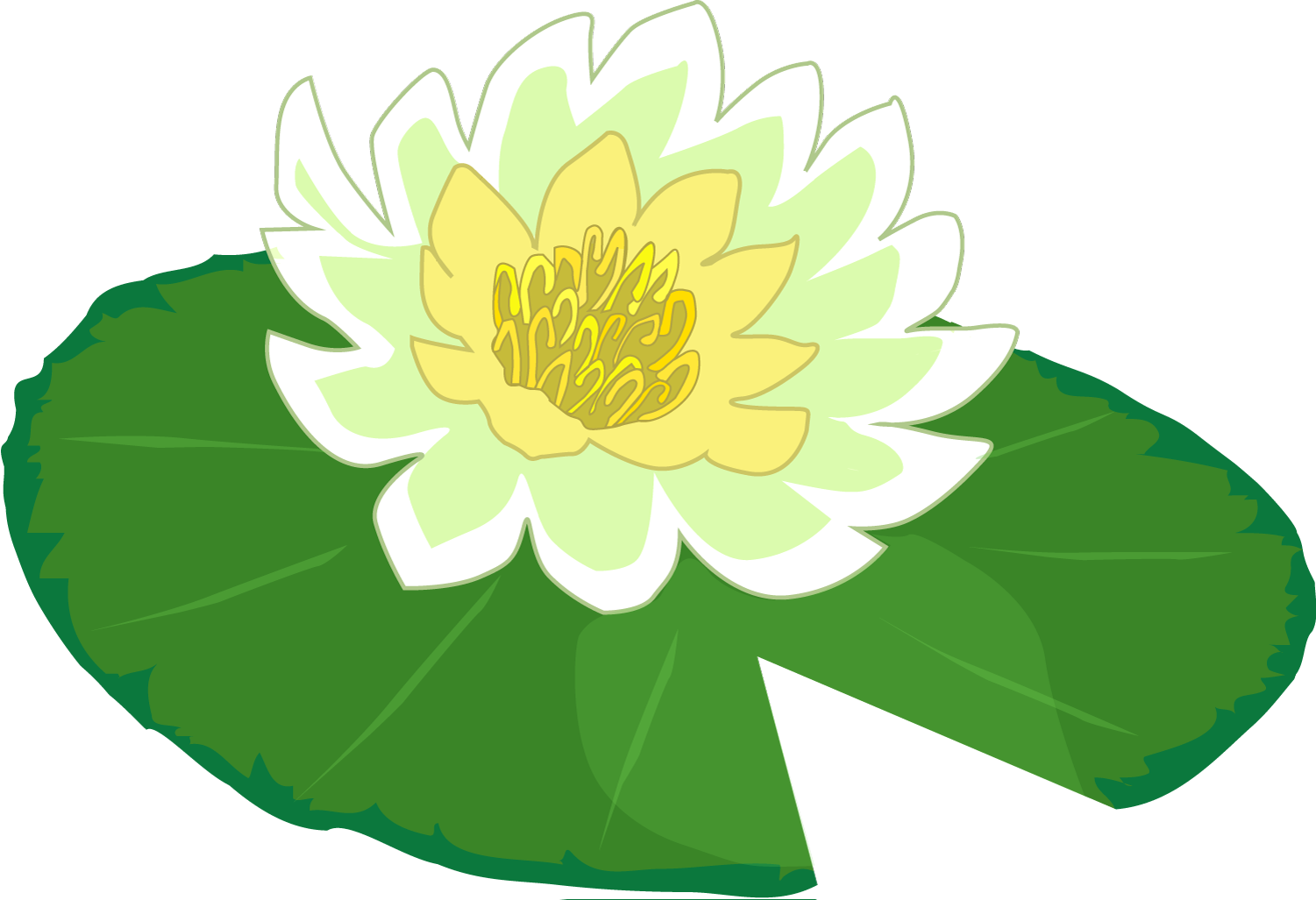 394 Lily Pad free clipart.