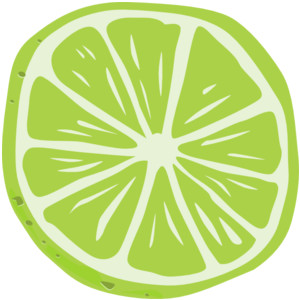 Lime Slice Clipart Free.