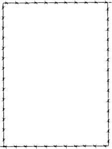 Simple Line Border Clipart Free.