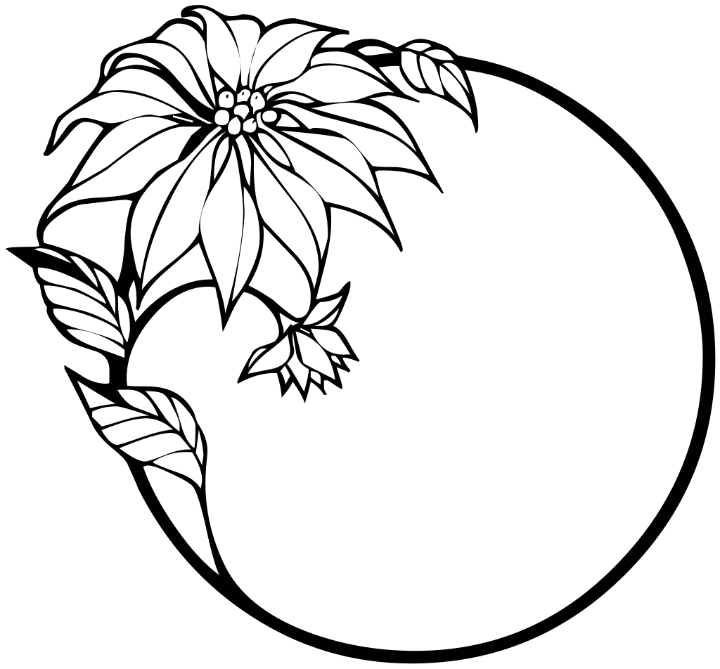 Free Clip Art Flowers Line Drawing Free Gift Tag Clipart.