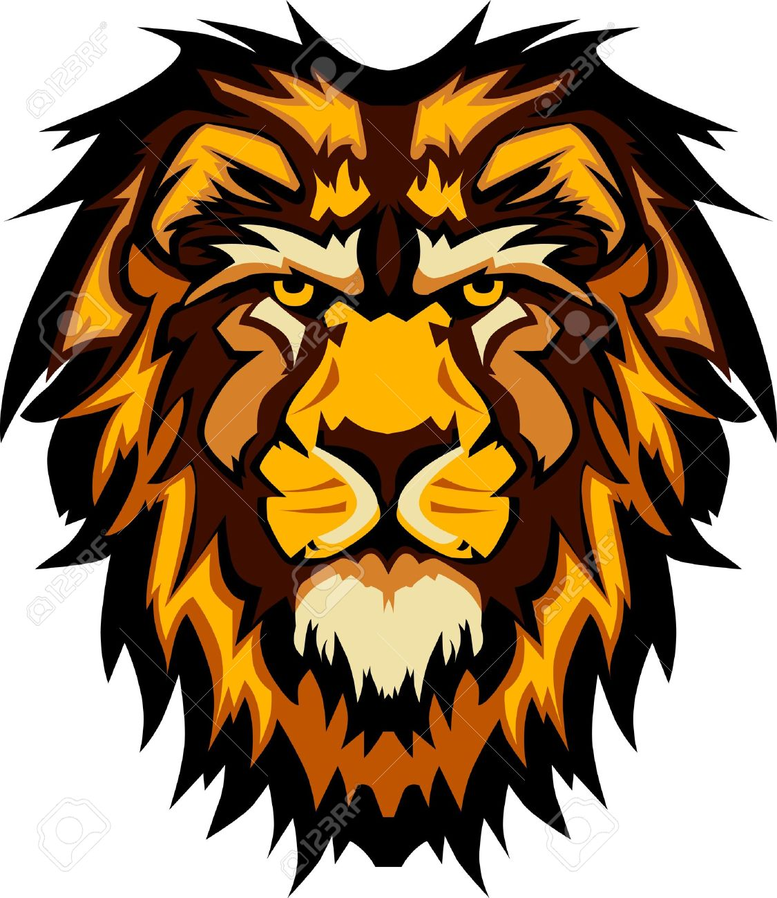 8,023 Lion Head Cliparts, Stock Vector And Royalty Free Lion Head.