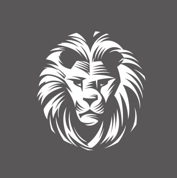 Free Lion head symbol.