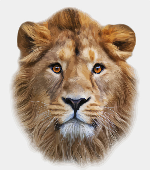Lion head clip art free vector download (210,578 Free vector) for.