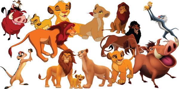 The Lion King Clipart Set of 34 The Lion King Clipart.