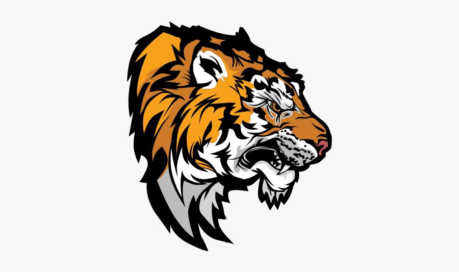 Lion Mascot Clipart.