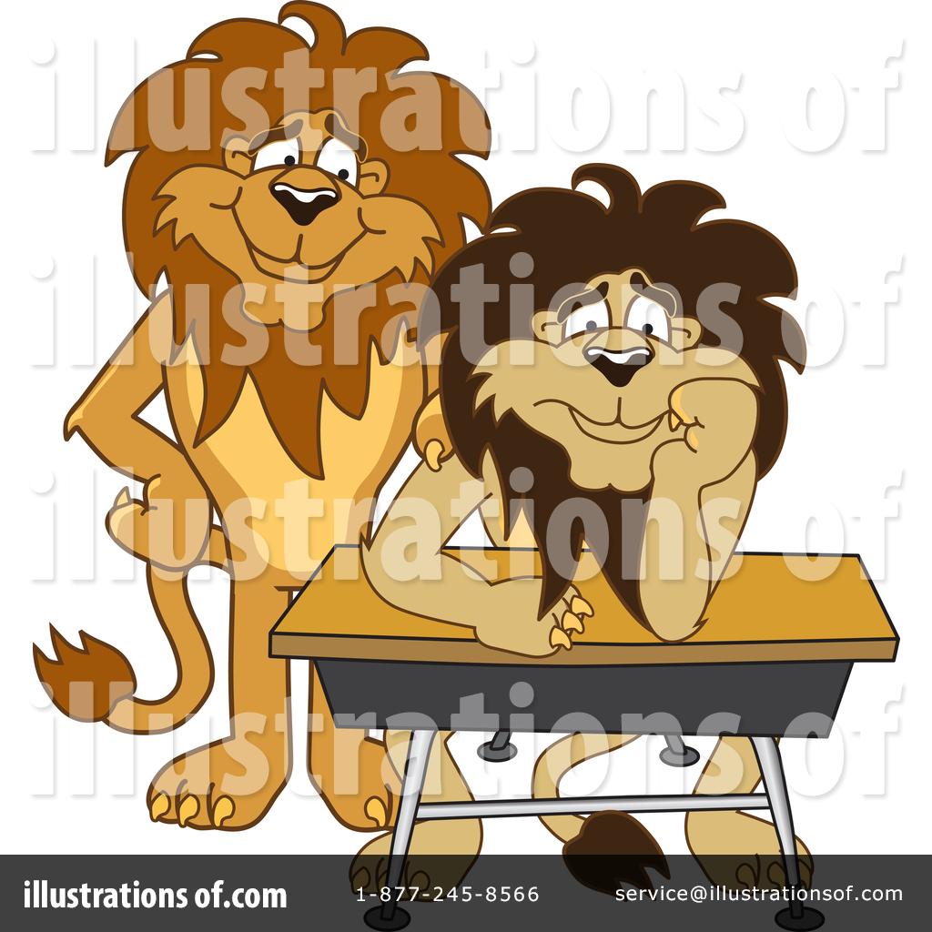 Lion School Mascot Clipart #1361787.
