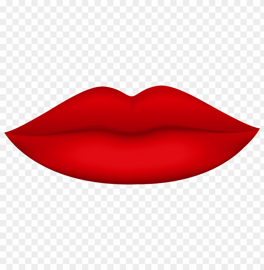 Download red lips clipart png photo.