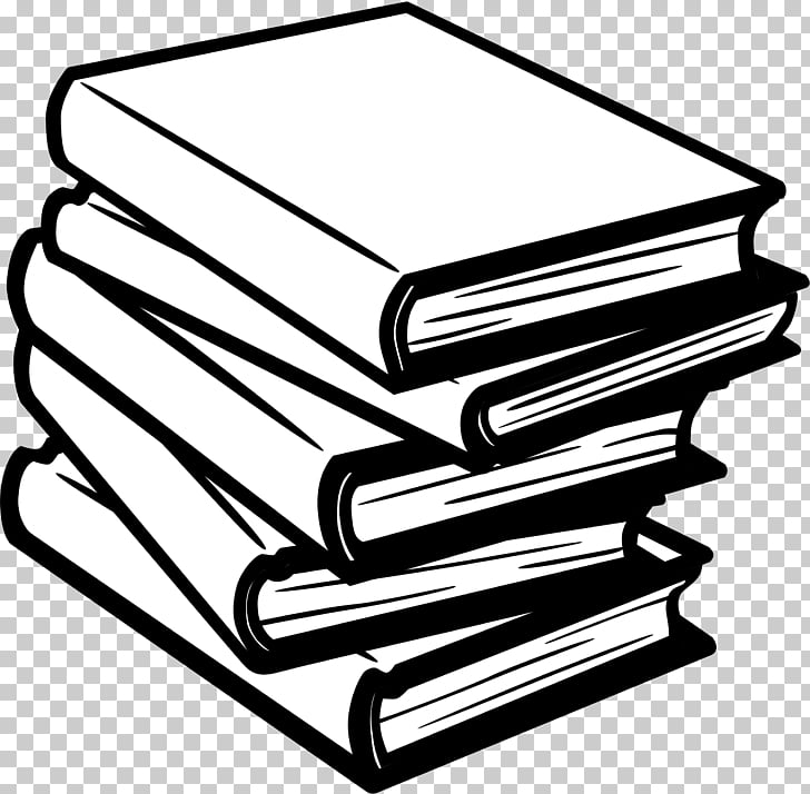 Black and White Book Children\'s literature , fether PNG.