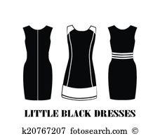 Little black dress Clip Art EPS Images. 819 little black dress.