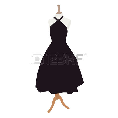 30,765 Black Dress Stock Vector Illustration And Royalty Free.