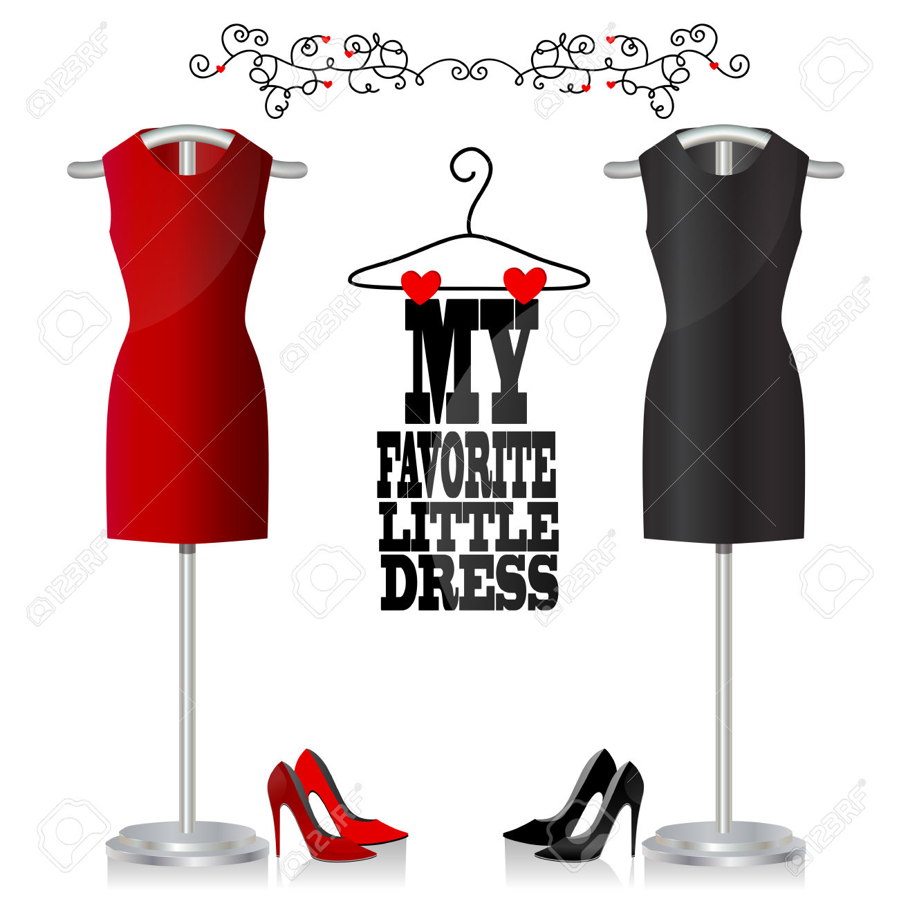 free little black dress clipart clipground