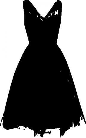 Free Little Black Dress Clipart.
