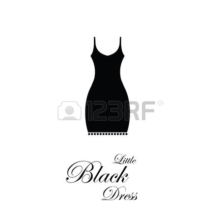1,765 Little Black Dress Cliparts, Stock Vector And Royalty Free.