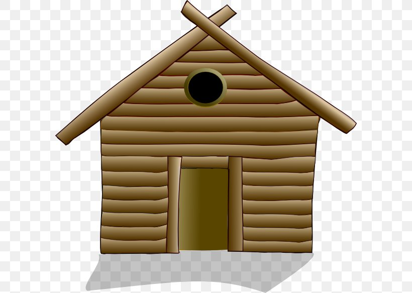 House Home Log Cabin Clip Art, PNG, 600x583px, House.