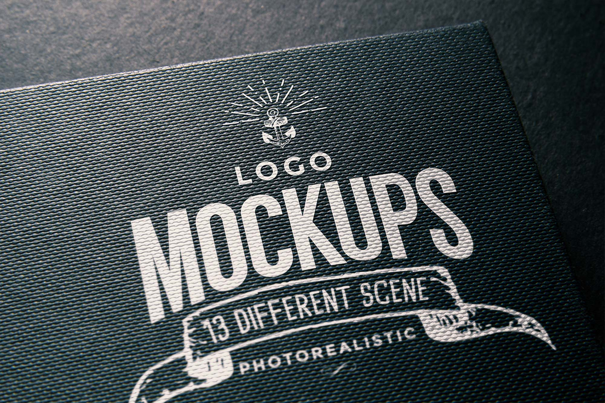 Simple Free Logo Mockup (PSD).