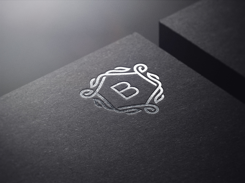 Branding Logo Mockups Set.