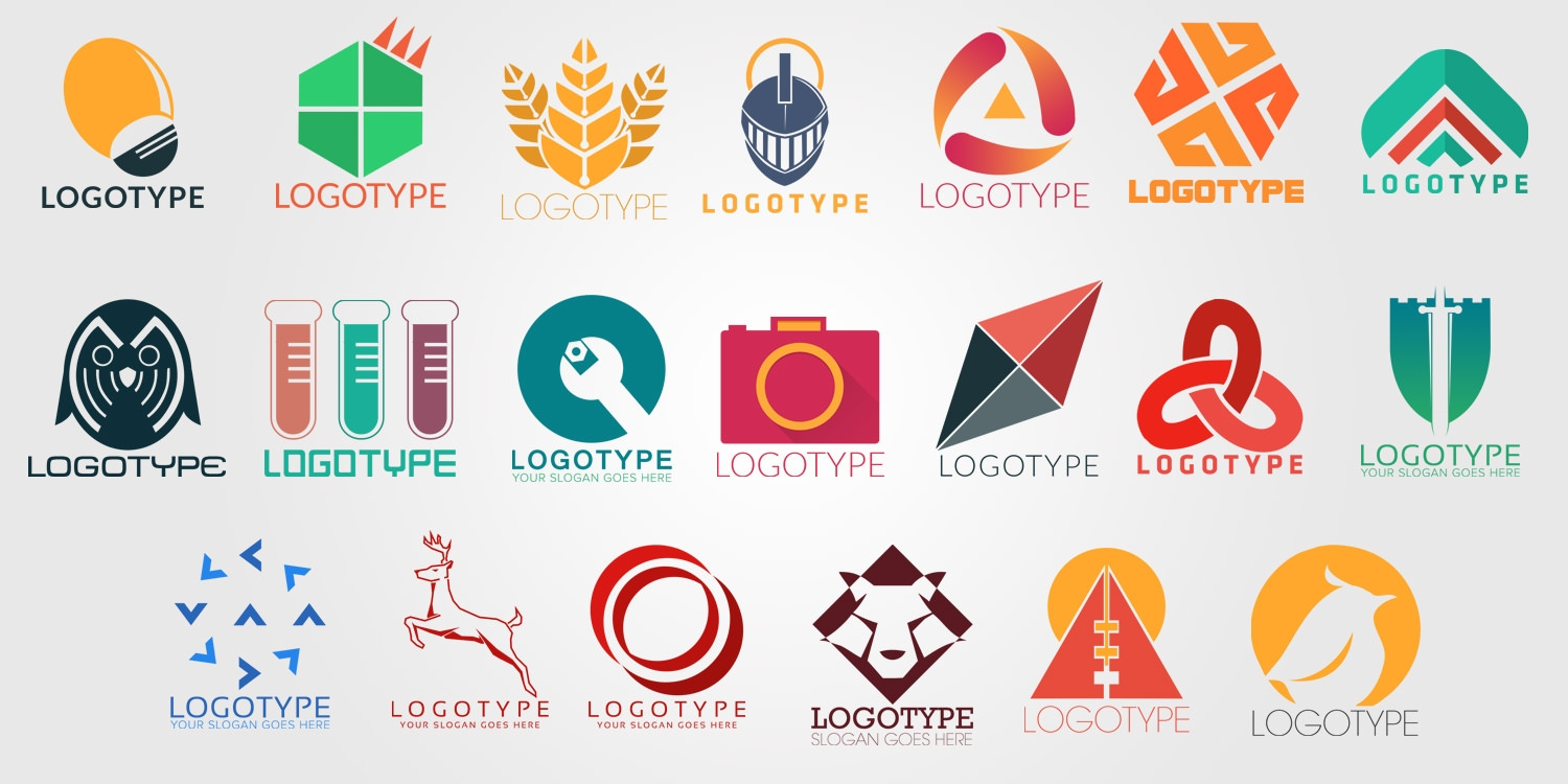 50+ Free PSD company logo Designs to Download.