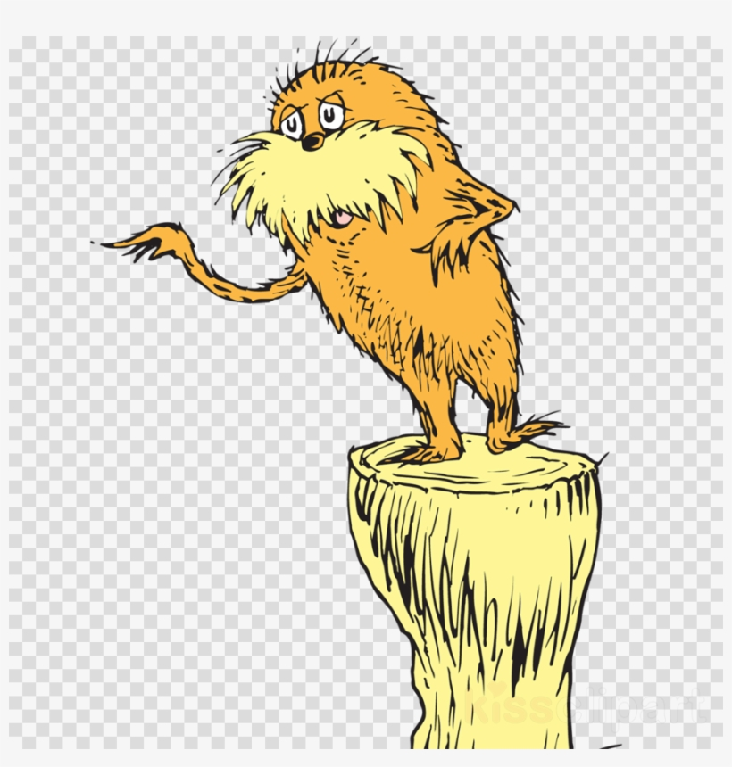 Download Free png Download Dr Seuss The Lorax Clipart The.