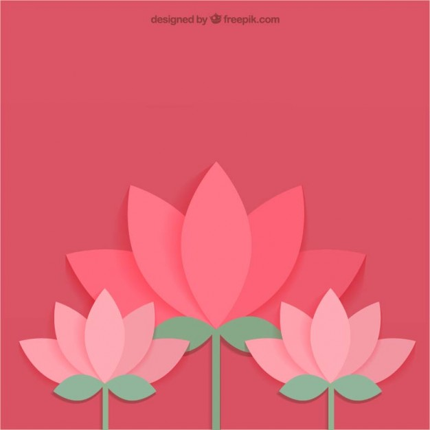 Lotus flower Icons.
