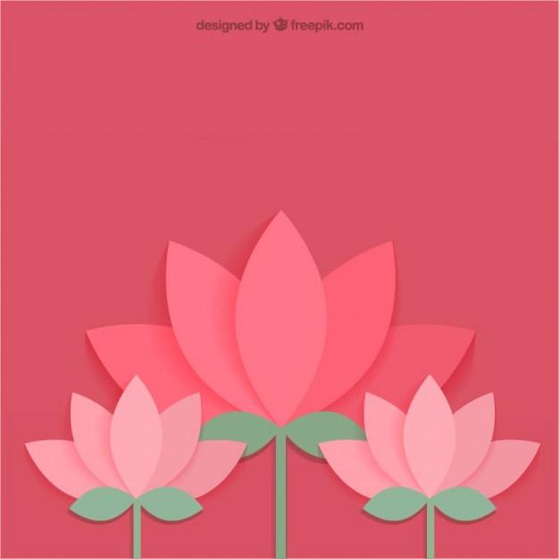 Lotus flower Icons.