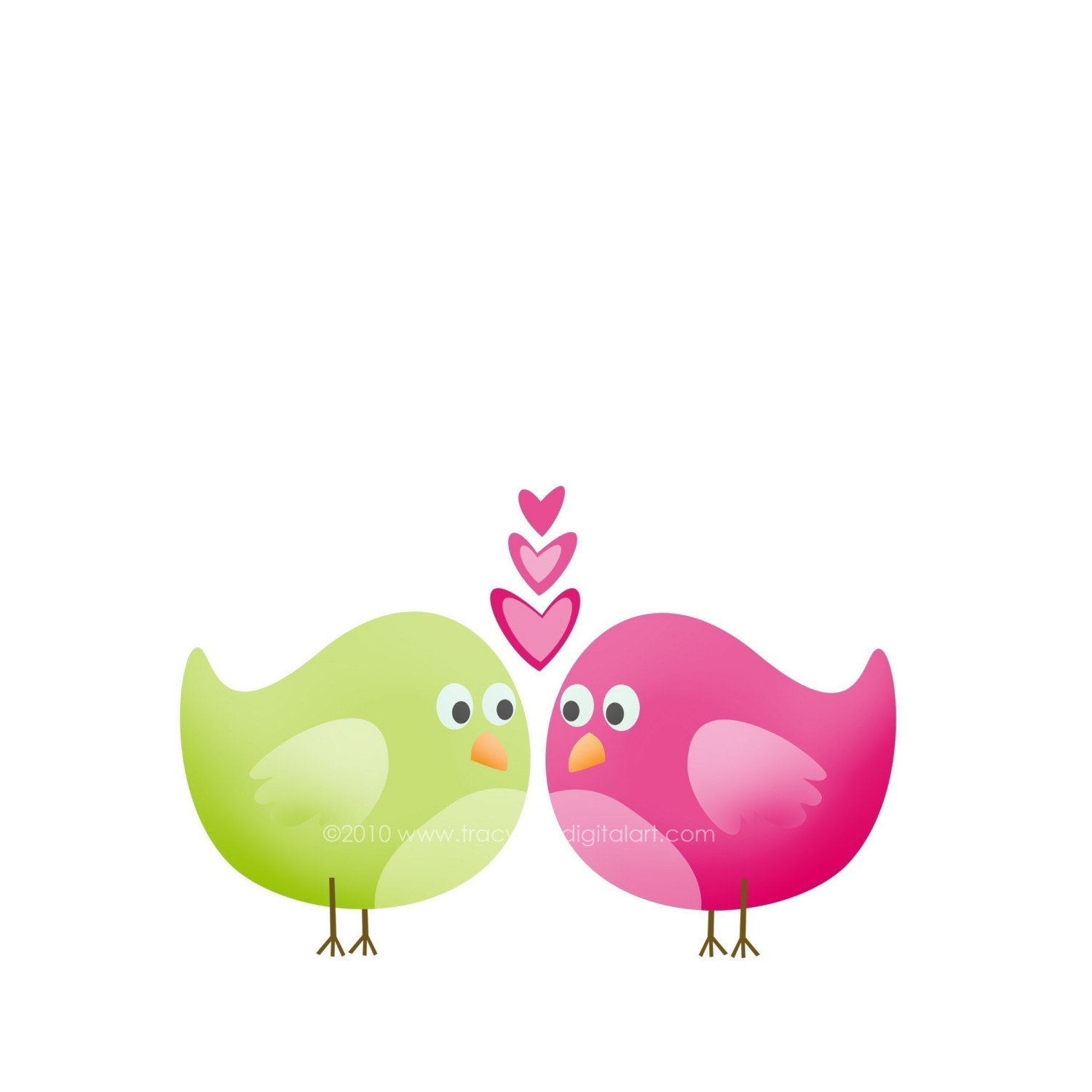 Best Love Birds Clipart #17842.