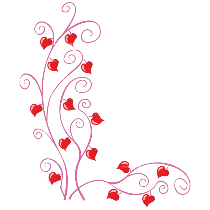 Image of love clipart 7 clipart love branches free vector.