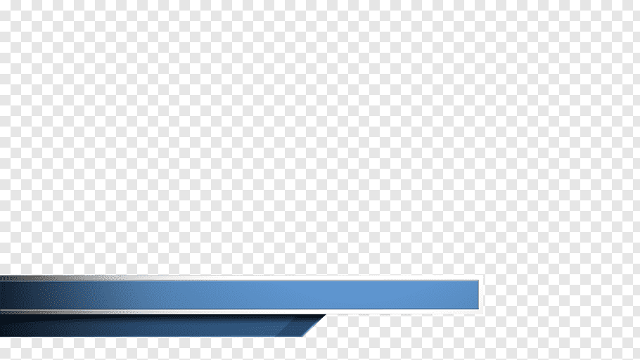 Blue banner, Rectangle Brand, lower third free png.
