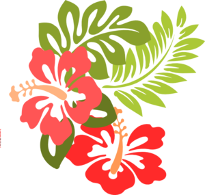 Luau clip art and borders free clipart images.