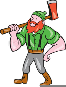 Lumberjack Clipart.