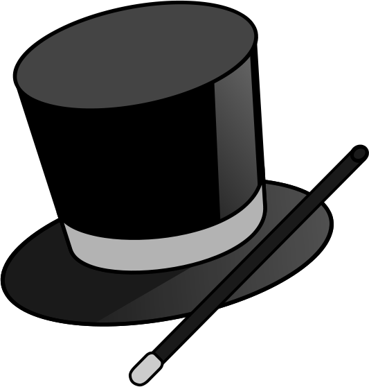Magic Hat Clipart.