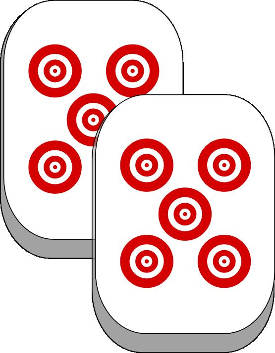 Free Mahjong Tiles Clip Art.