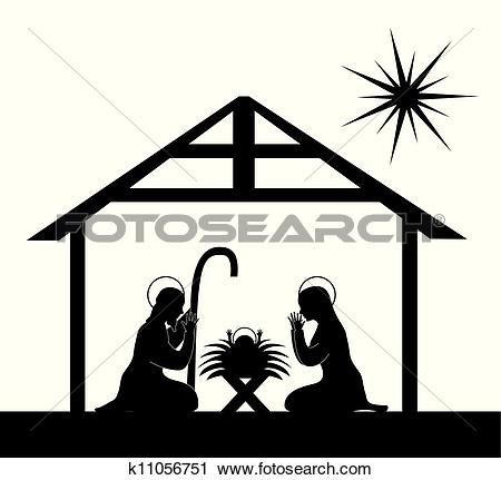 Nativity Clip Art EPS Images. 4,020 nativity clipart vector.