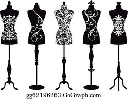 Mannequin Clip Art.
