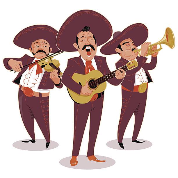 Mariachi Band Clipart.