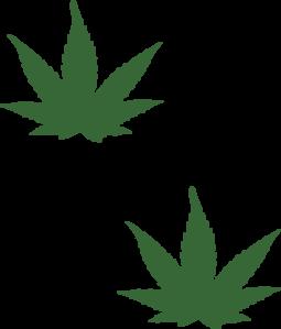 Weed Leaf Clip Art at Clker.com.