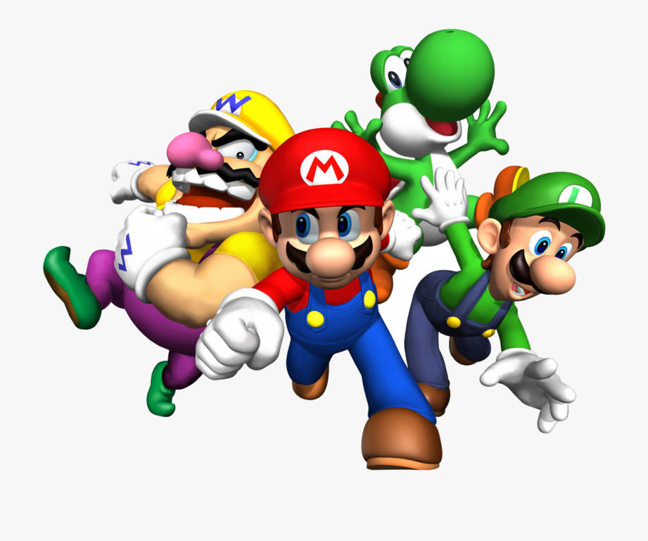 Mario Super Clip Art Transparent Png.