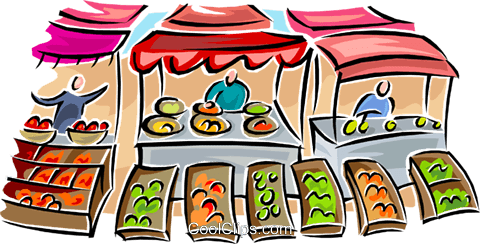 market clipart clipground Fruit and Vegetable Border Fruits and Vegetables Background