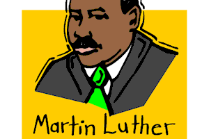 Martin luther king jr clipart free » Clipart Station.