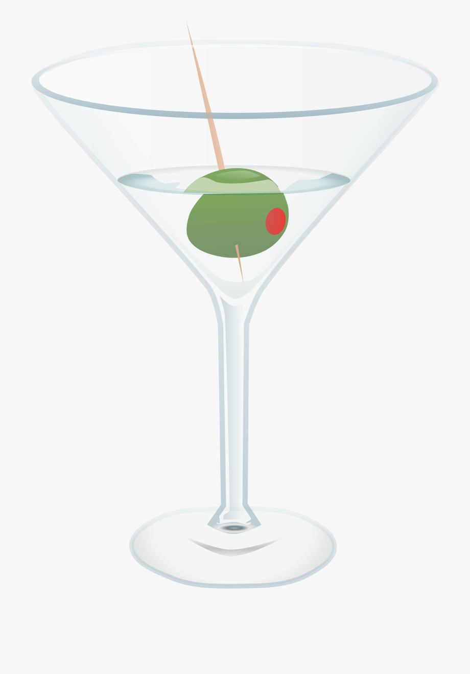 Martini Glass Free To Use Clip Art.