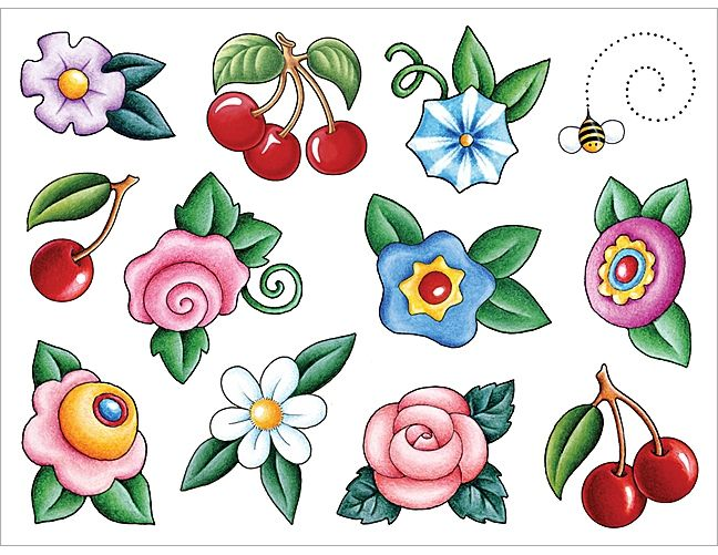 Mary Engelbreit Flowers Clipart.