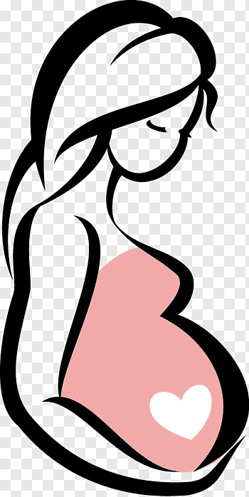 Pregnant cutout PNG & clipart images.