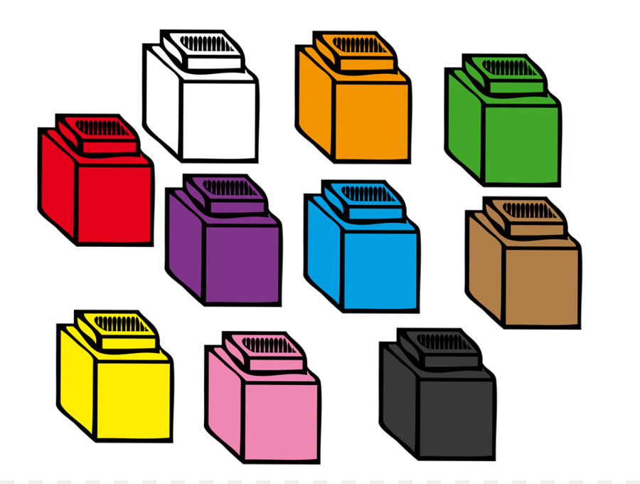 Cube Square png download.