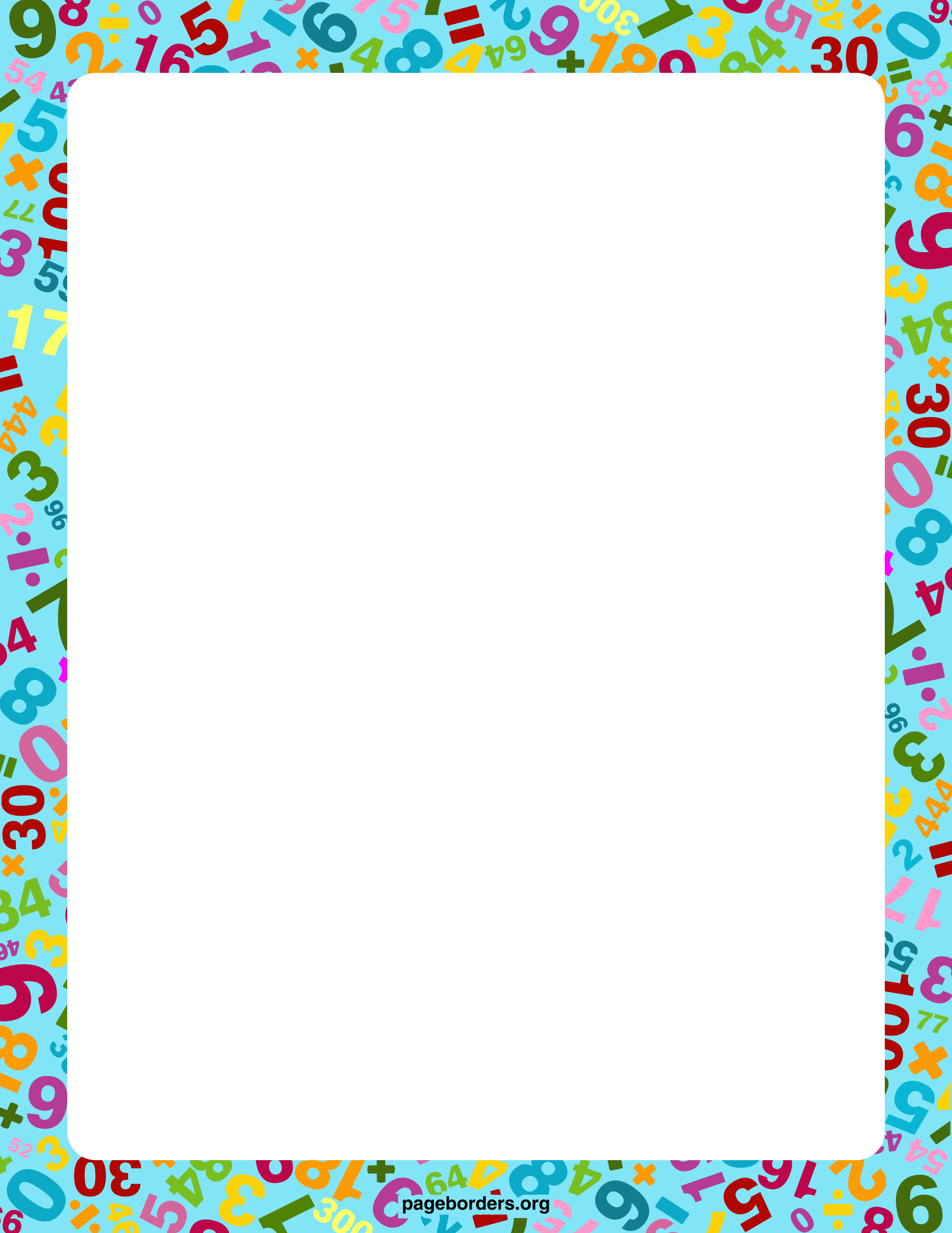 Math Border 2 Math Border Free Cliparts That You Can.