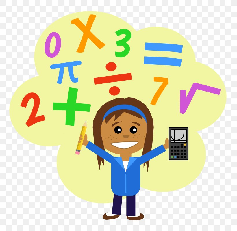 Mathematics Free Content Number Clip Art, PNG, 800x800px.