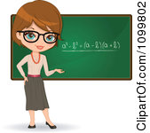 Math Teacher Clipart.